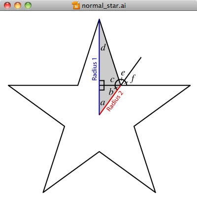 Creating A Normal Star In Adobe Illustrator American Flag Style